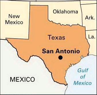 San Antonio Texas Map San Antonio, TX Projects — Community Collaborations International