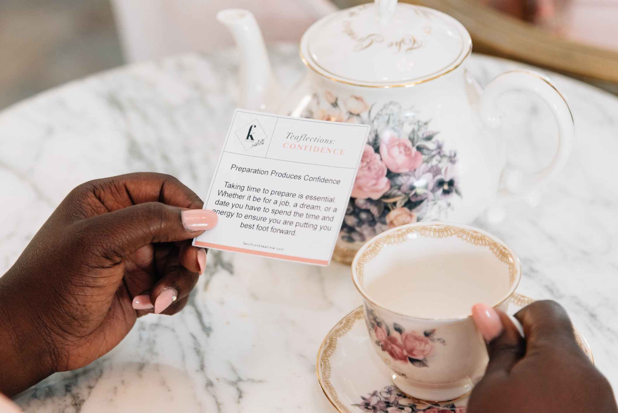 Tea-Flections - Tea-FlectionsWhat are Tea- Flections? Tea- Flections are inspirational moments created by our team to bring love, hope, confidence and inspiration to our customers. Each jar of Fanchion K's Tea Time comes with their own