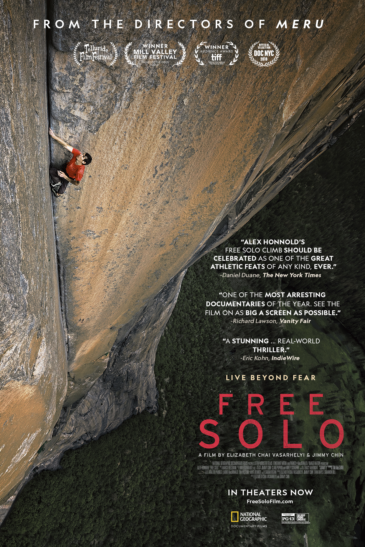 Free Solo Film Poster