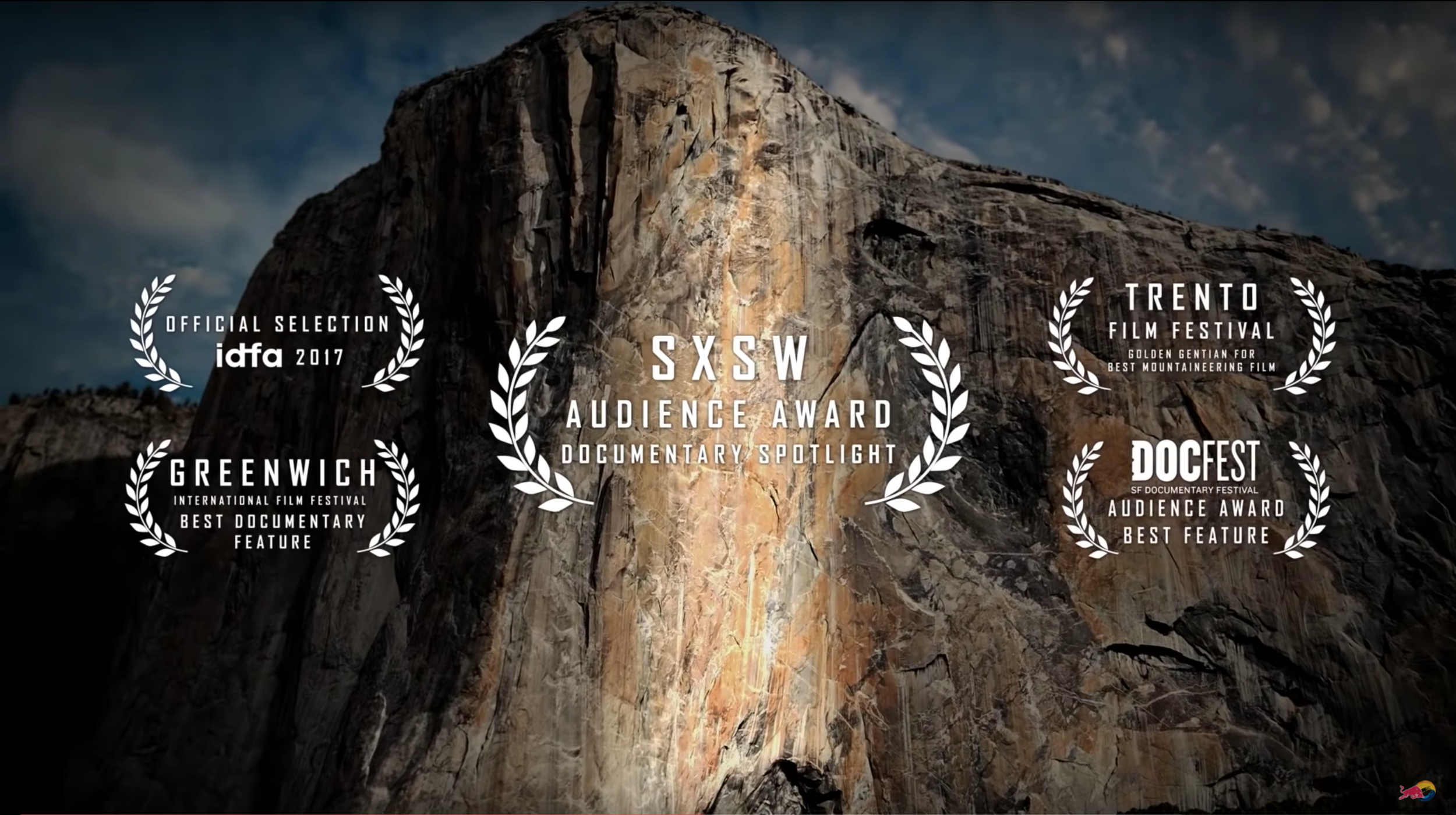 Awards  The Dawn Wall won a variety of prestigious awards, including the Audience Award at SXSW and Outstanding Producer of a Documentary Film from the Producers Guild of America Awards.