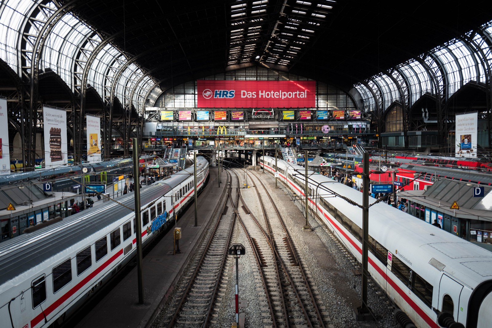 Hamburg Train Station