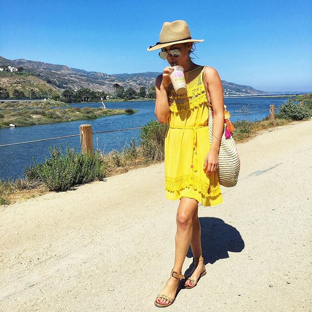This hat is never leaving my head! 👑 Is it the weekend yet?? 🏖 📸: @jennedelson  #Thursdayfeels http://liketk.it/2wkkK #liketkit #LTKunder100 #LTKswim @liketoknow.it #malibu #summer #bikini #riverisland #yellow #ootd #electraformosastyle #beachwear