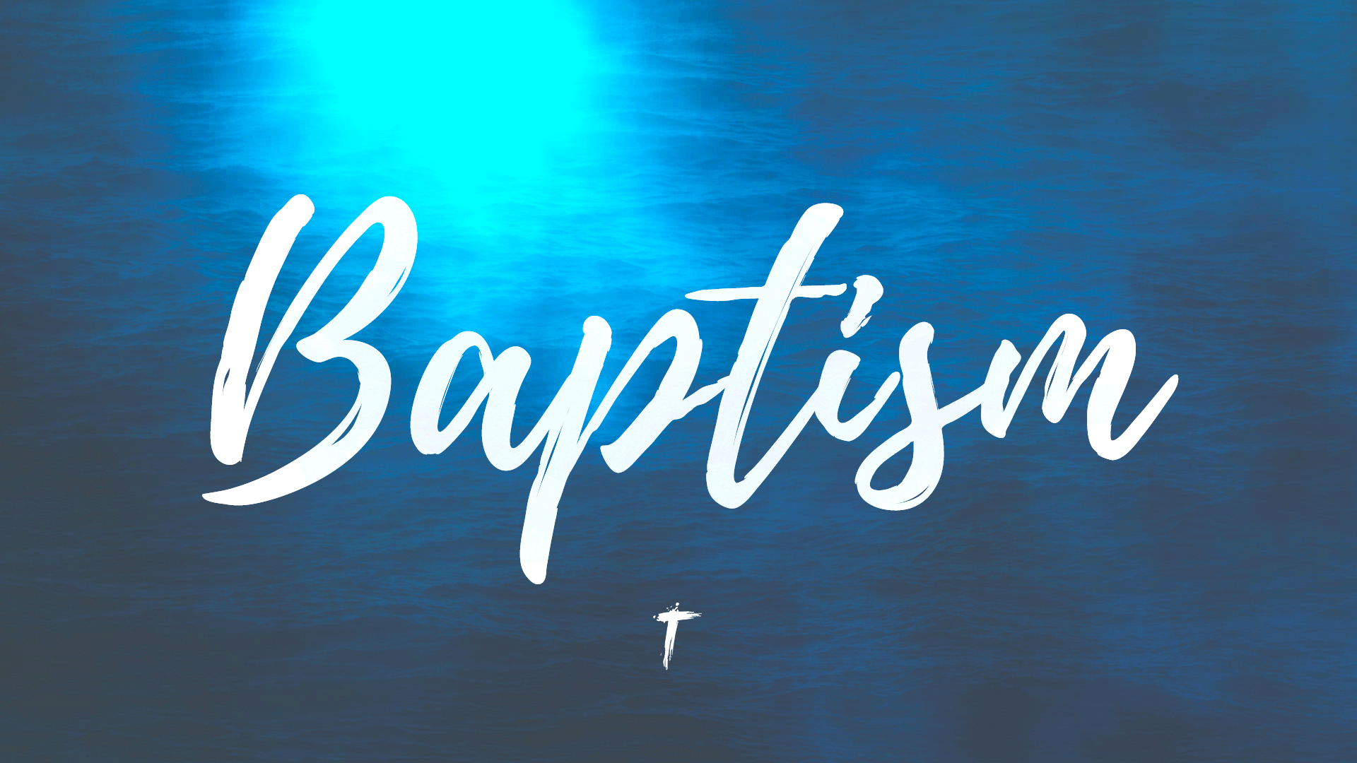 BAPTISMS - Thinking about getting baptized? Getting Baptized is one of the most significant experiences in our Christian life. If you want to know more, send us an email or come talk to us at church!