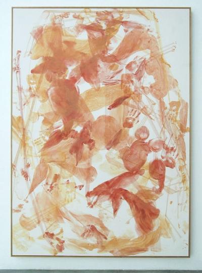 Diagonal, 2013  photographic paper and aluminum 213 x 153 cm