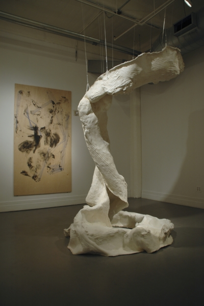 The Climb is Also the Fall , installation view, A.I.R. Gallery, New York, USA