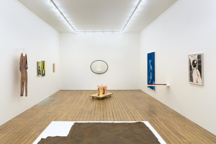 The problem with having a body / is that it always needs to be somewhere , installation view, 7th April 2017 - 14th May 2017 The Approach, London, UK