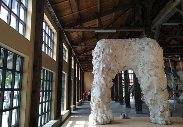 Intersect , 2014, installation view, Vancouver Biennale, 2014 - 2016, Vancouver B.C. Canada