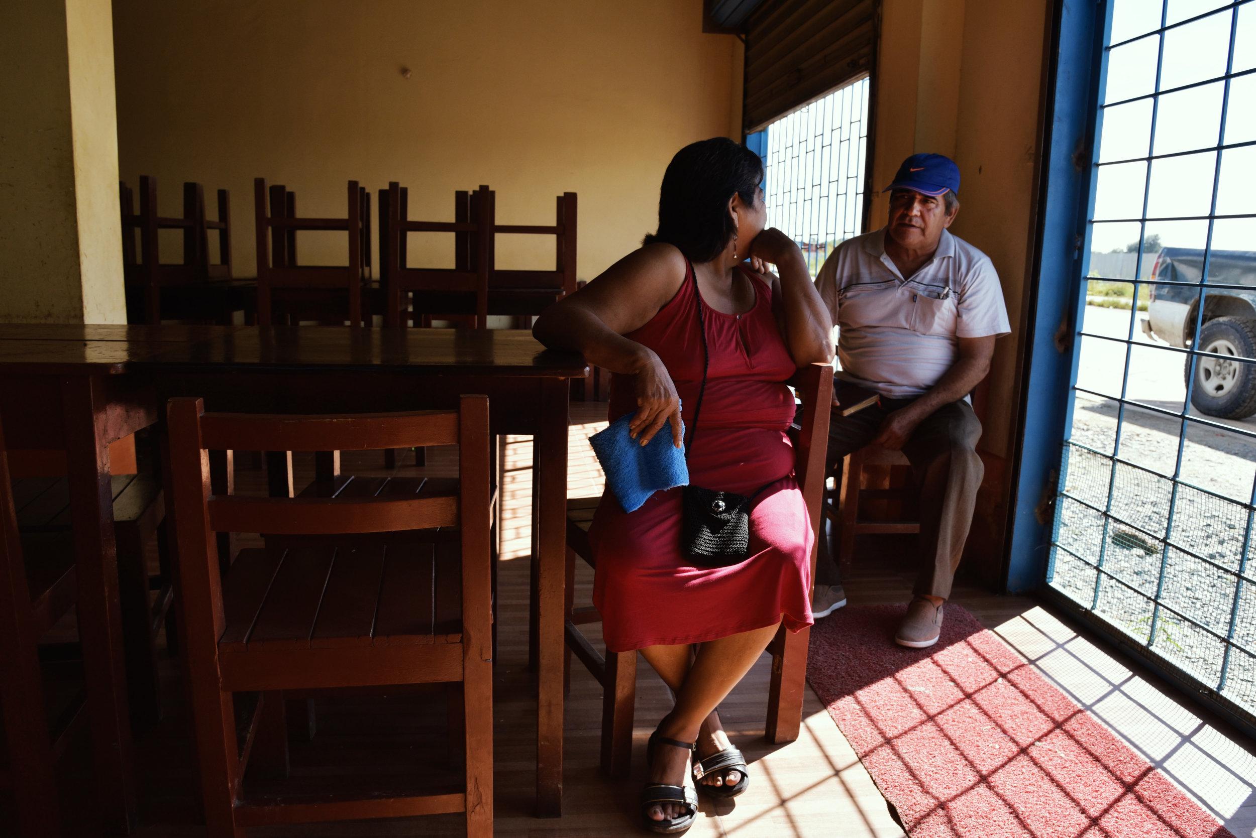 Adela y Don Pedro