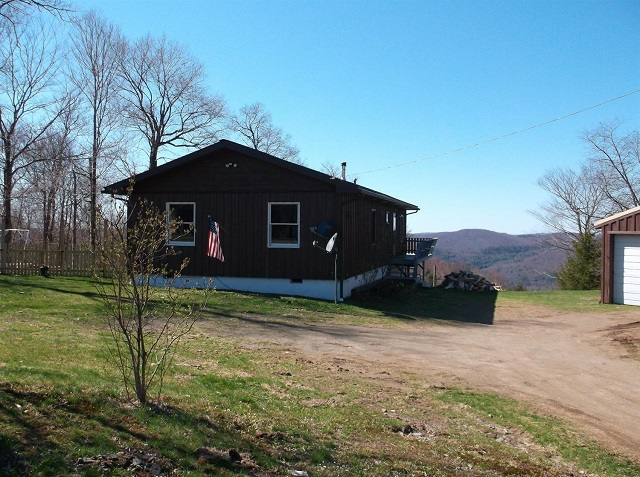 229,000 - Beautiful Home, Views,10.21 Acs, 2 Bedrooms, 2 Baths,Feet From NYS Land, Large Garage