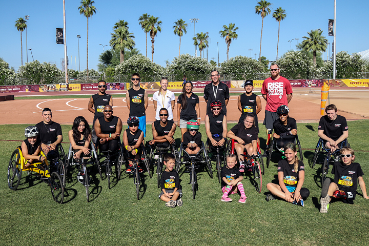 """Last season was great! Almost everyone had personal best times and I can't wait to see even more improvement in 2018!"" - Stephen Binning, wheelchair track assistant coach and athlete"