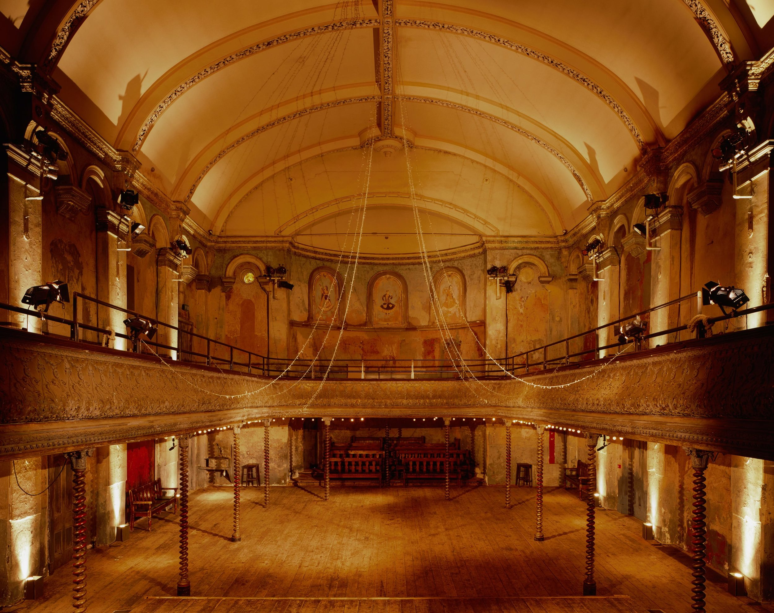 The Auditorium, where the majority of event took place. The view is from the stage.