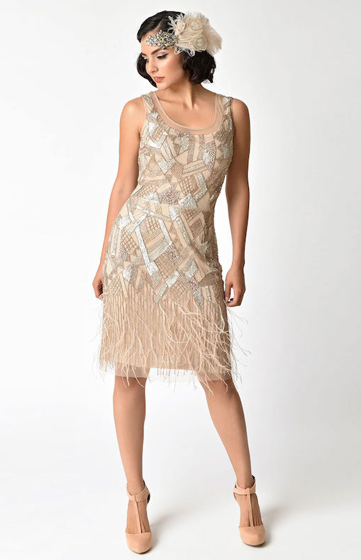 1920s_Style_Champagne_Beaded_Deco_Feather_Fringe_Marilyn_Flapper_Dress_1.jpg