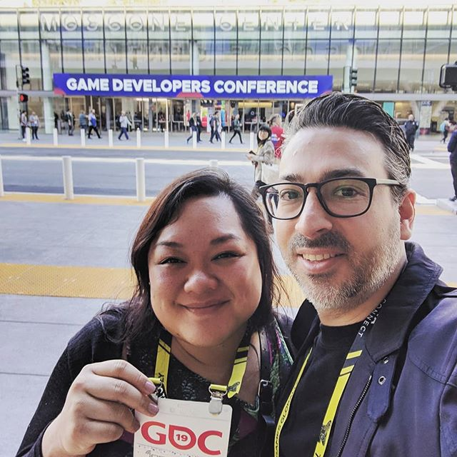 We've arrived safe and sound! First day #GDC!  #GDC2019 #gamedevelopersconference #sanfrancisco #gamedev #indiedev