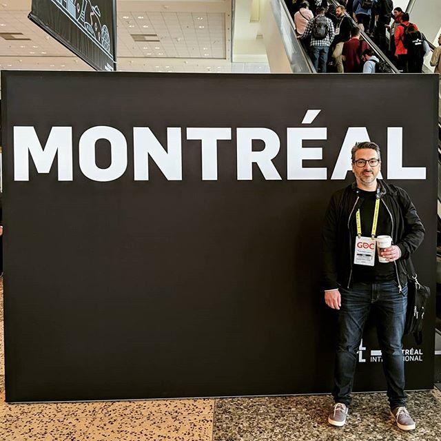 Representing #Montreal at #GDC! 🇨🇦❤️ #GDC2019 #Montrealer #SanFrancisco #GameDev