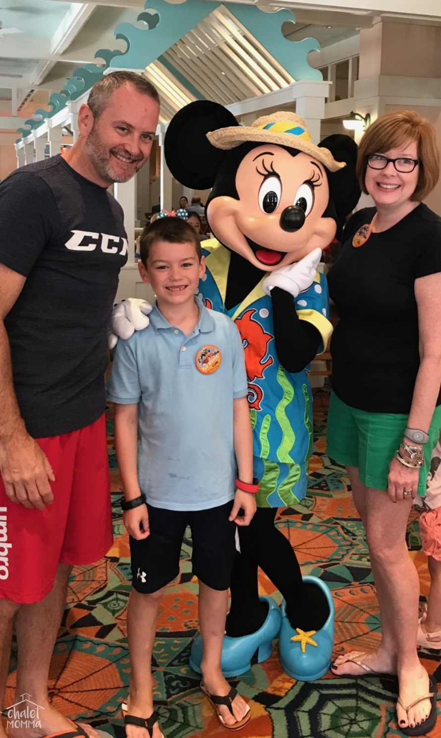 Meeting Minnie Mouse  September 25, 2018