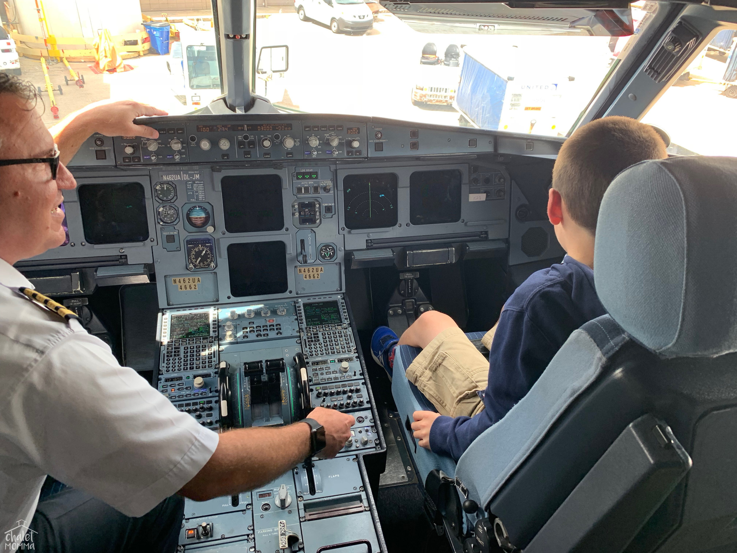 This was Liam's first time on an Airplane. The Crew of our   United   Flight could not have been more delightful! he will have this memory forever!