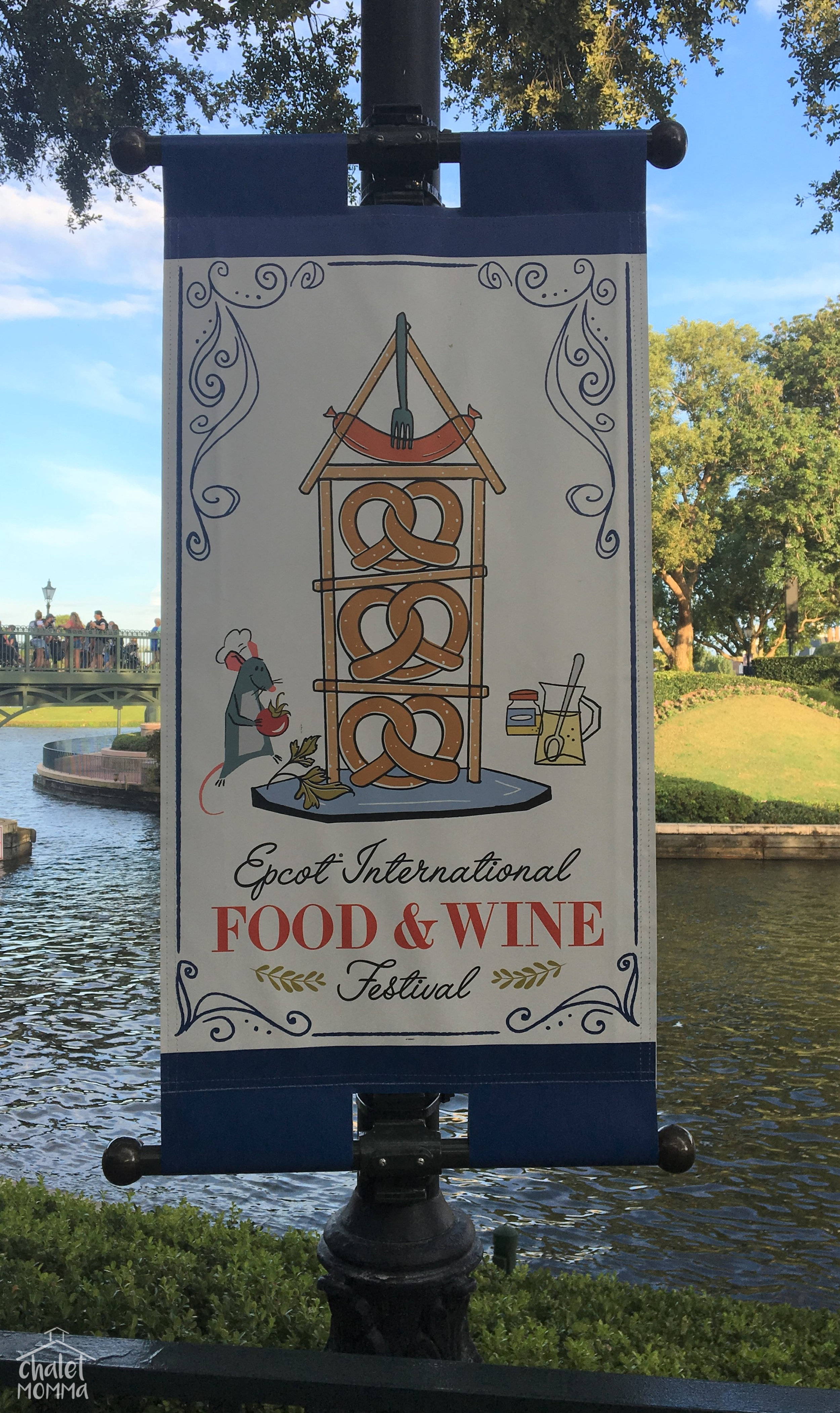 You can't believe how thrilled we all were that the International Food & Wine Festival coincided with our trip!!!