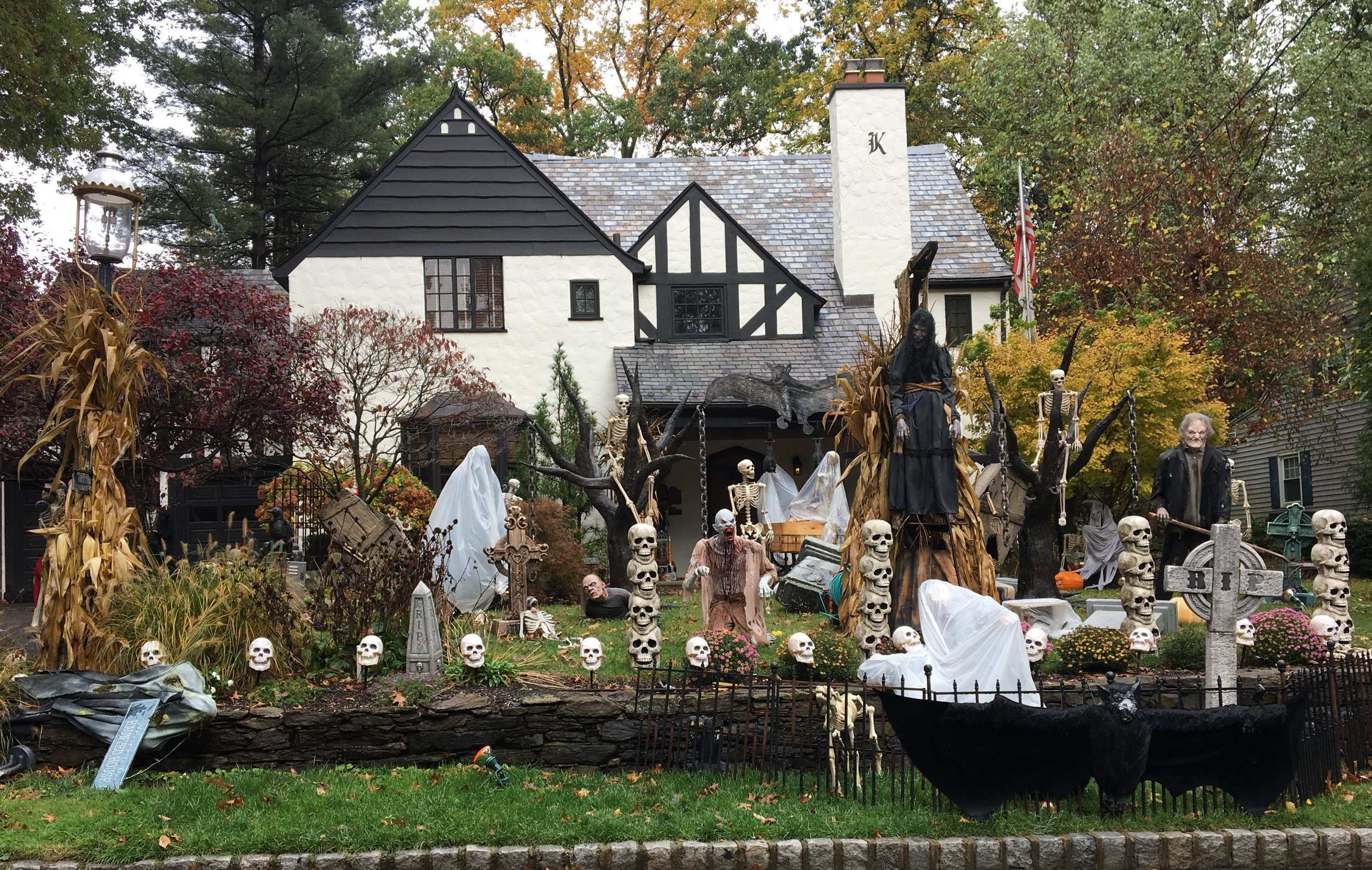 The Halloween House 2017!