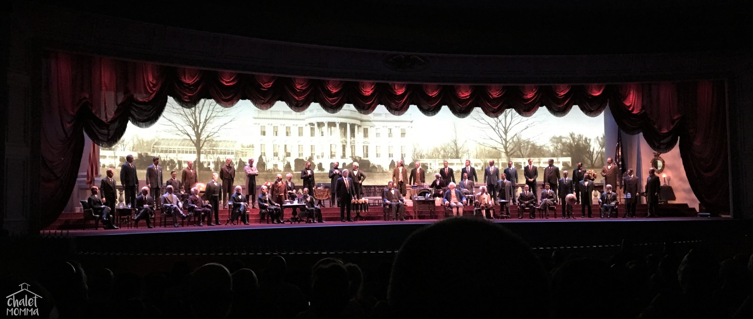 The Hall of Presidents. I loved it as a child and was delighted to share it with my son!