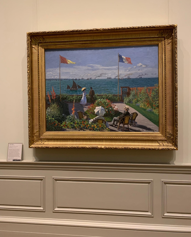 Claude Monet / Garden at Sainte-Adresse