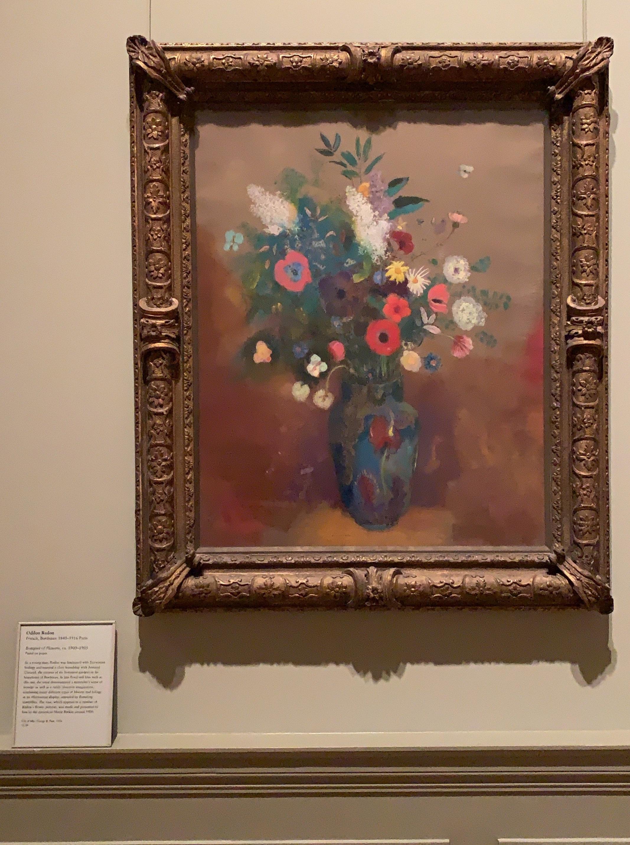 O dilon Redon /Bouquet of Flowers