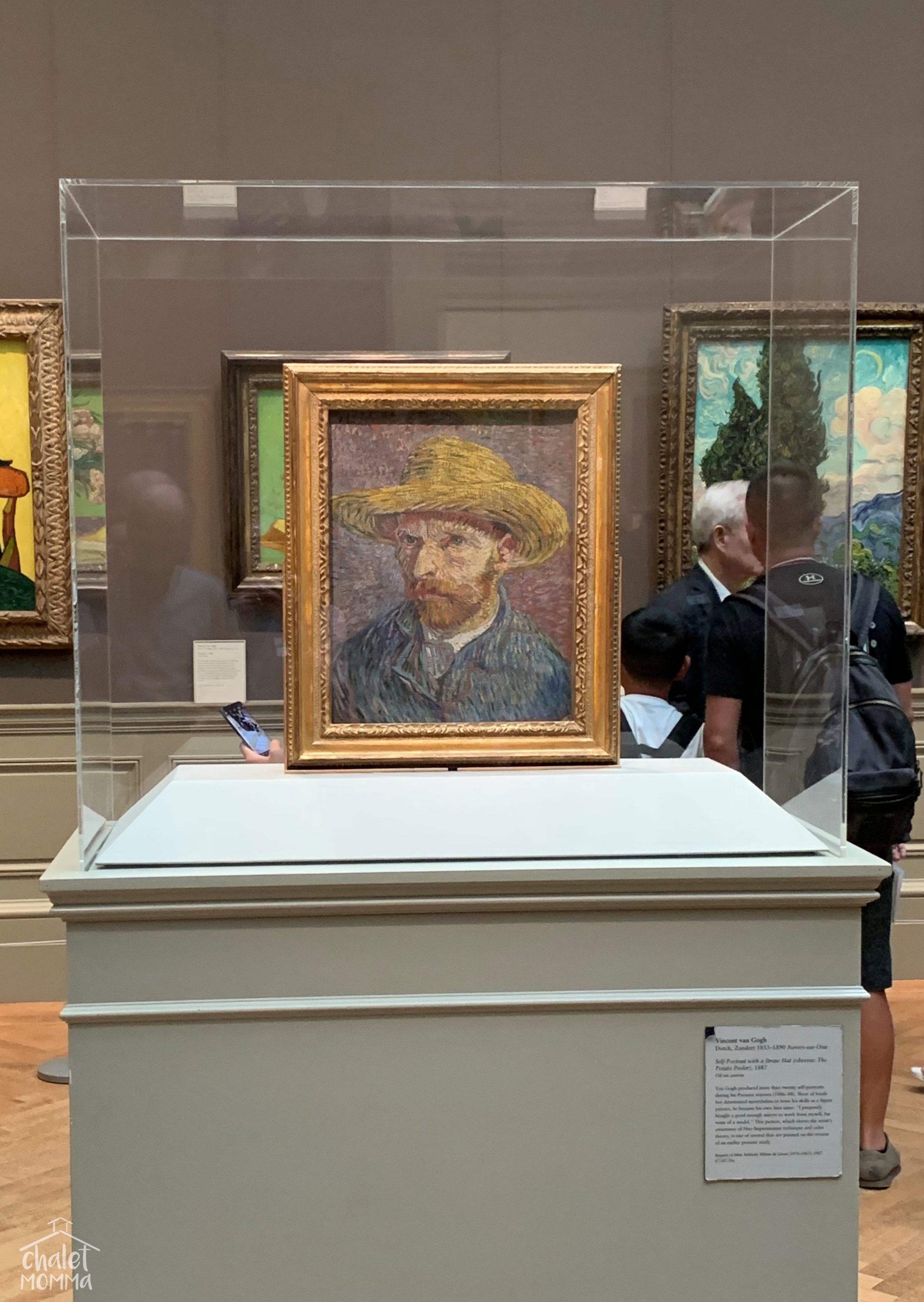 Self Portrait with a straw Hat