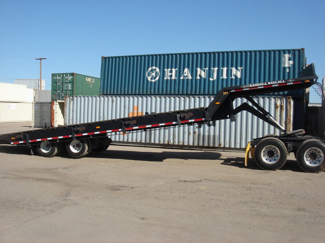 40 ft tilt bed delivery truck