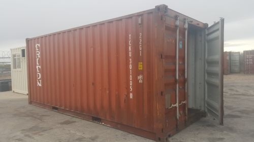 The 20 foot portable storage container is our most popular sized unit. It is small enough for residential needs and large enough for most commercial, industrial and construction needs. All our rentals are 20ft in length.