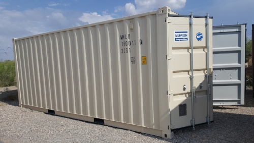 New 20 foot units are available throughout the year.