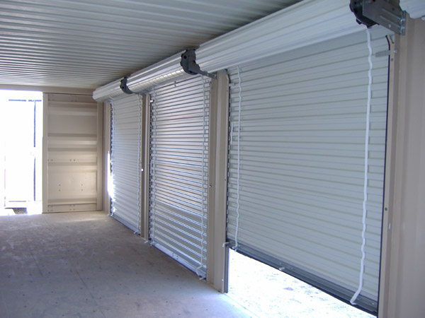 Custom Modifications - Advanced Mobile Storage can install many types of doors and windows to your storage container, we have much to offer if you are creating a special space for storage or a lifestyle.Learn More