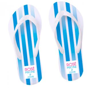 Rosé Piscine Flip Flop