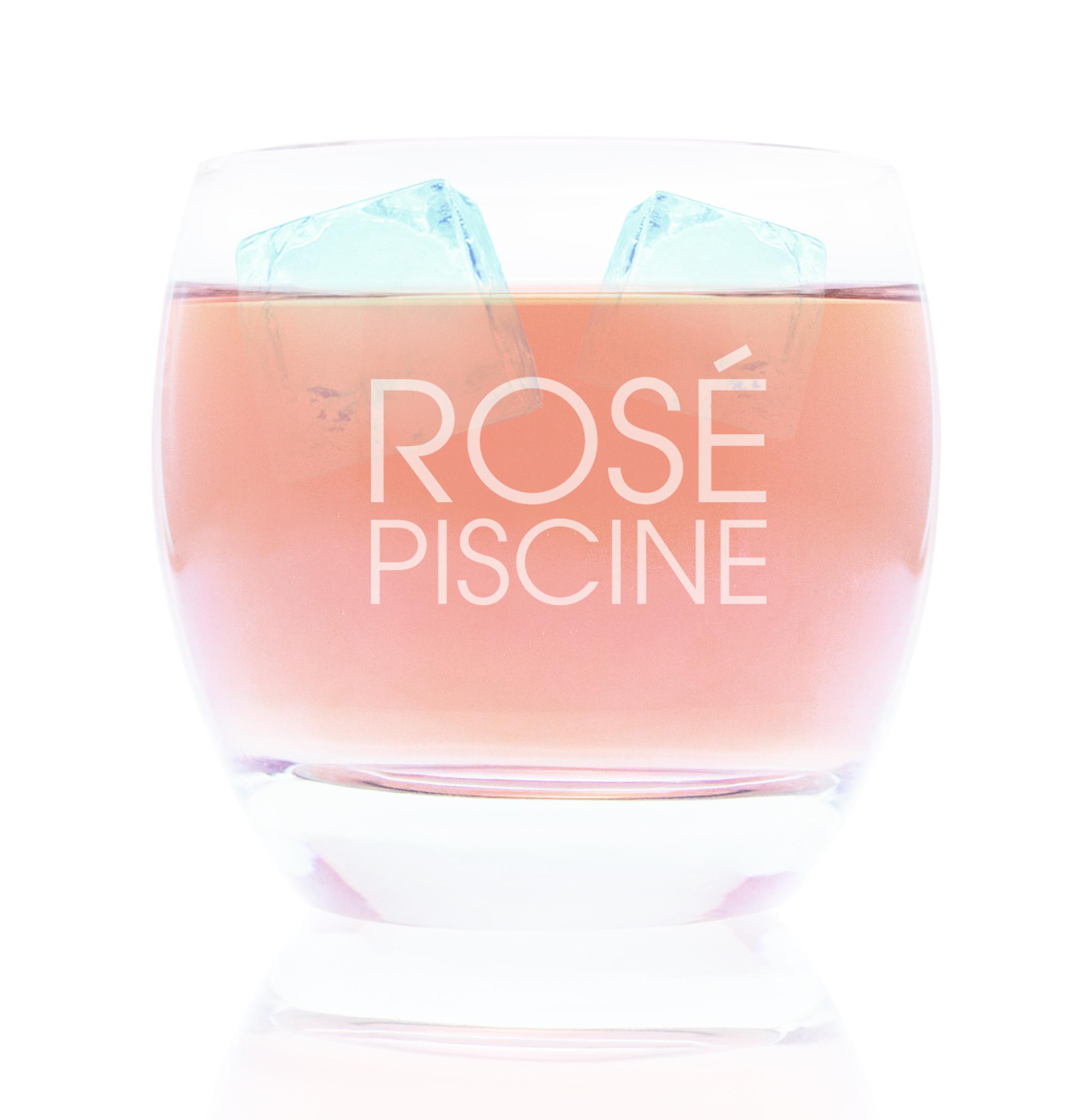 Rosé Piscine Glassware (Box of 6)