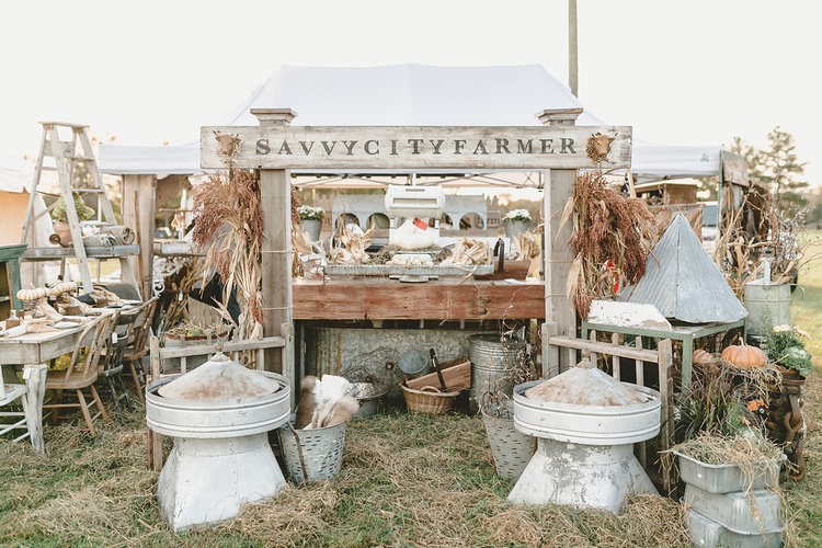 Savvy City Farmer at October Pop Up Fair