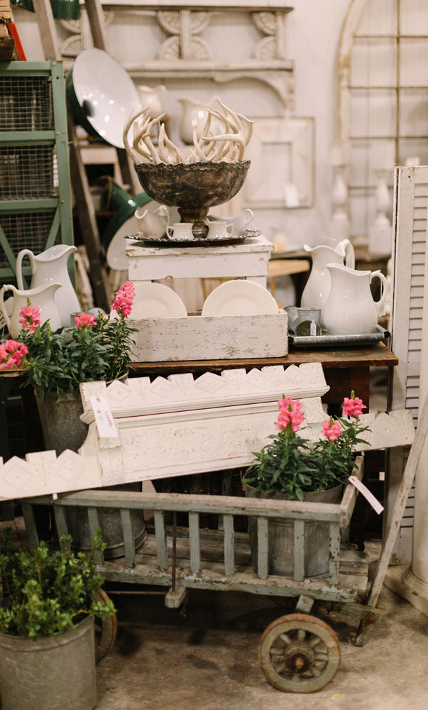 Vintage and antiques at the City Farmhouse Pop Up Fair