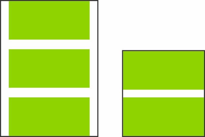 Pictured: Oversize Gang sheet vs. Small Gang sheet.