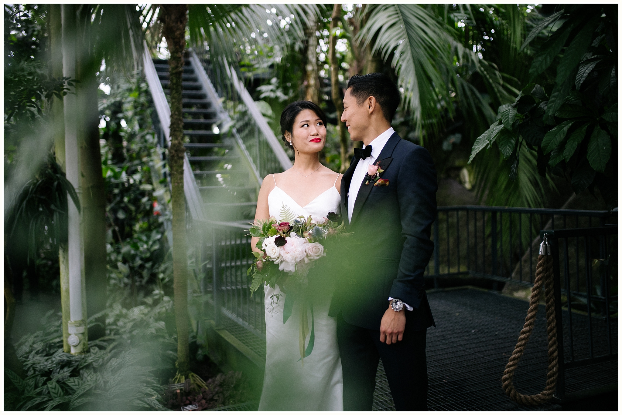 Crystal & Dave - New York Botanical Garden Wedding - NYC