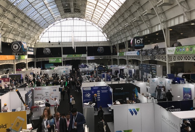 Blockchain Expo - London - Free admission brings a diverse, but unqualified crowd of attendees.