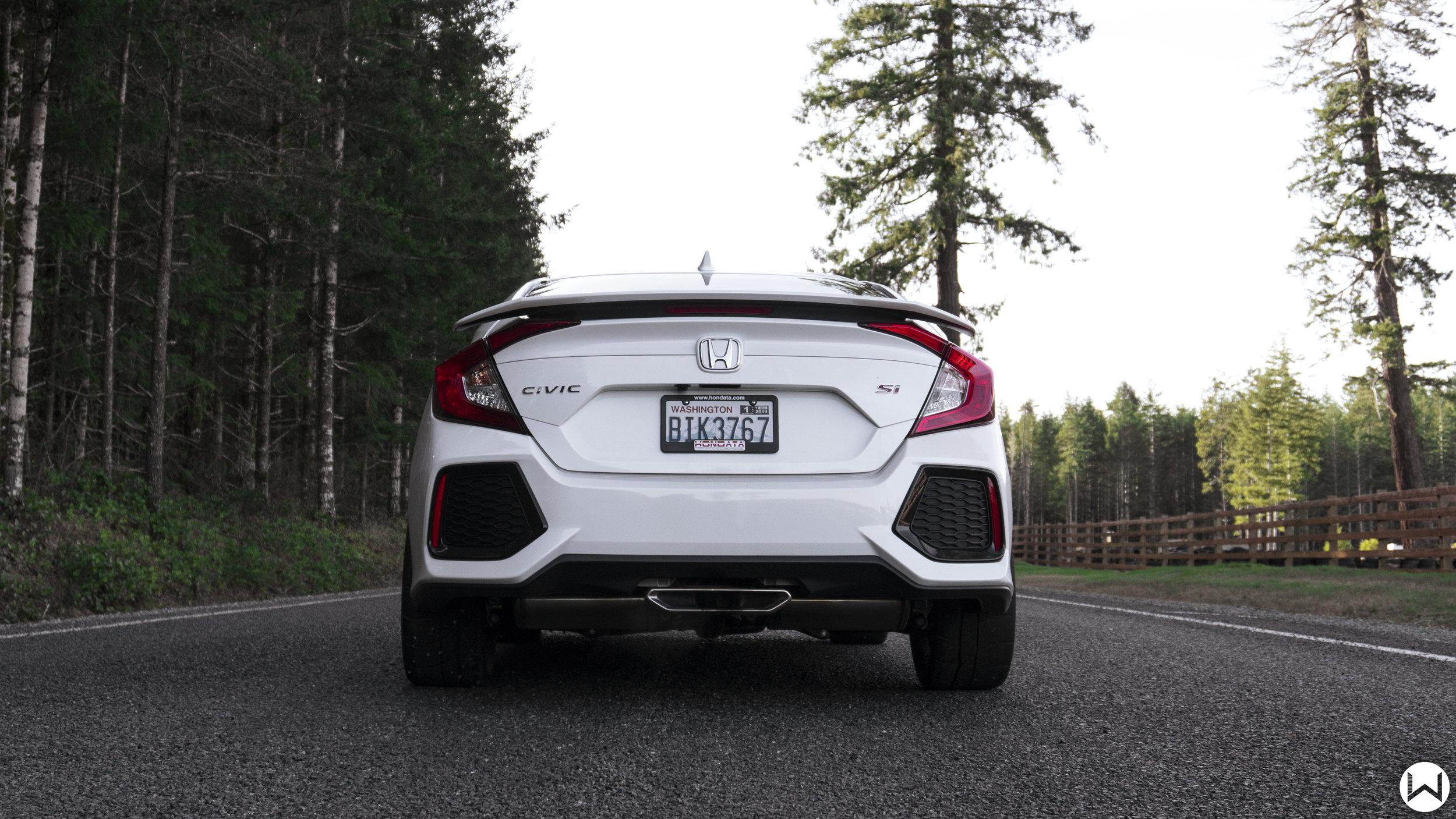 Honda Civic SI exhaust teaser