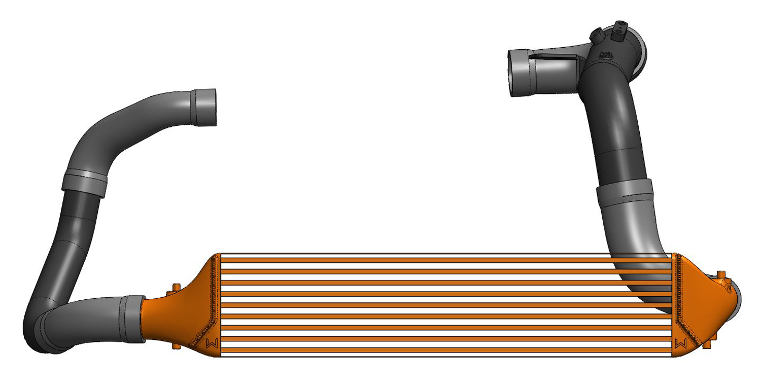 Computer Aid Drafting Rendering of the 27WON Performance FMIC