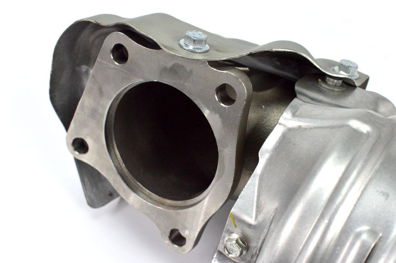 Honda-Civic-SI-Cast-Downpipe-Shield-CivicX.JPG