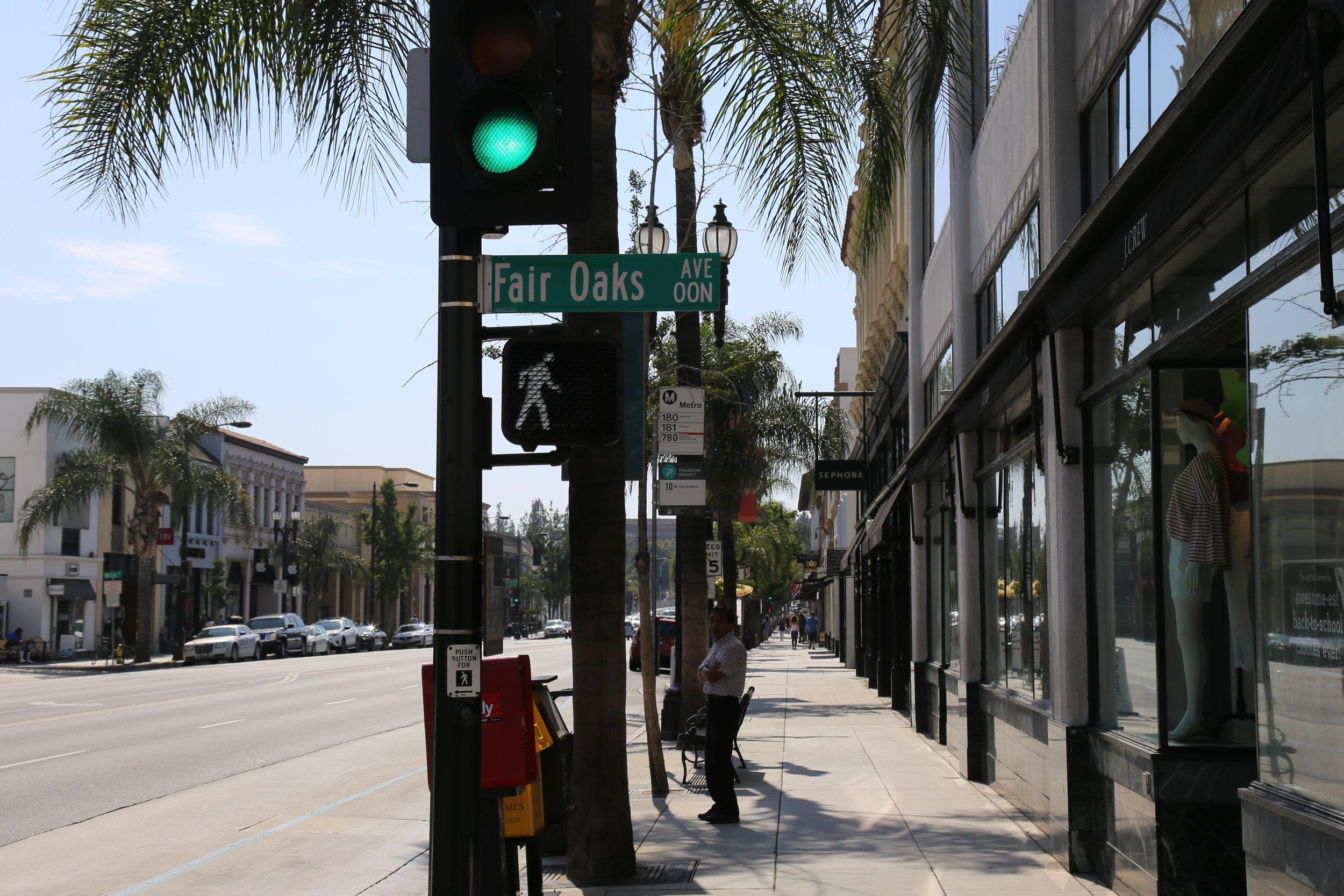 780 stop in Old Town Pasadena