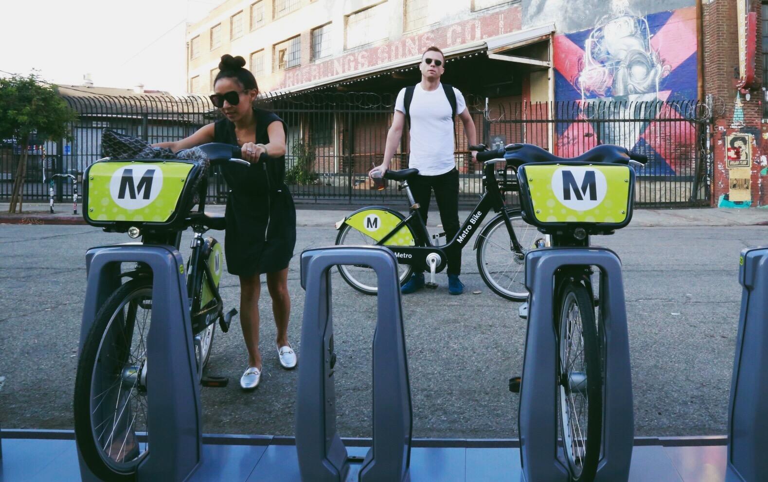 MetroBike/Gold Line to Pasadena -