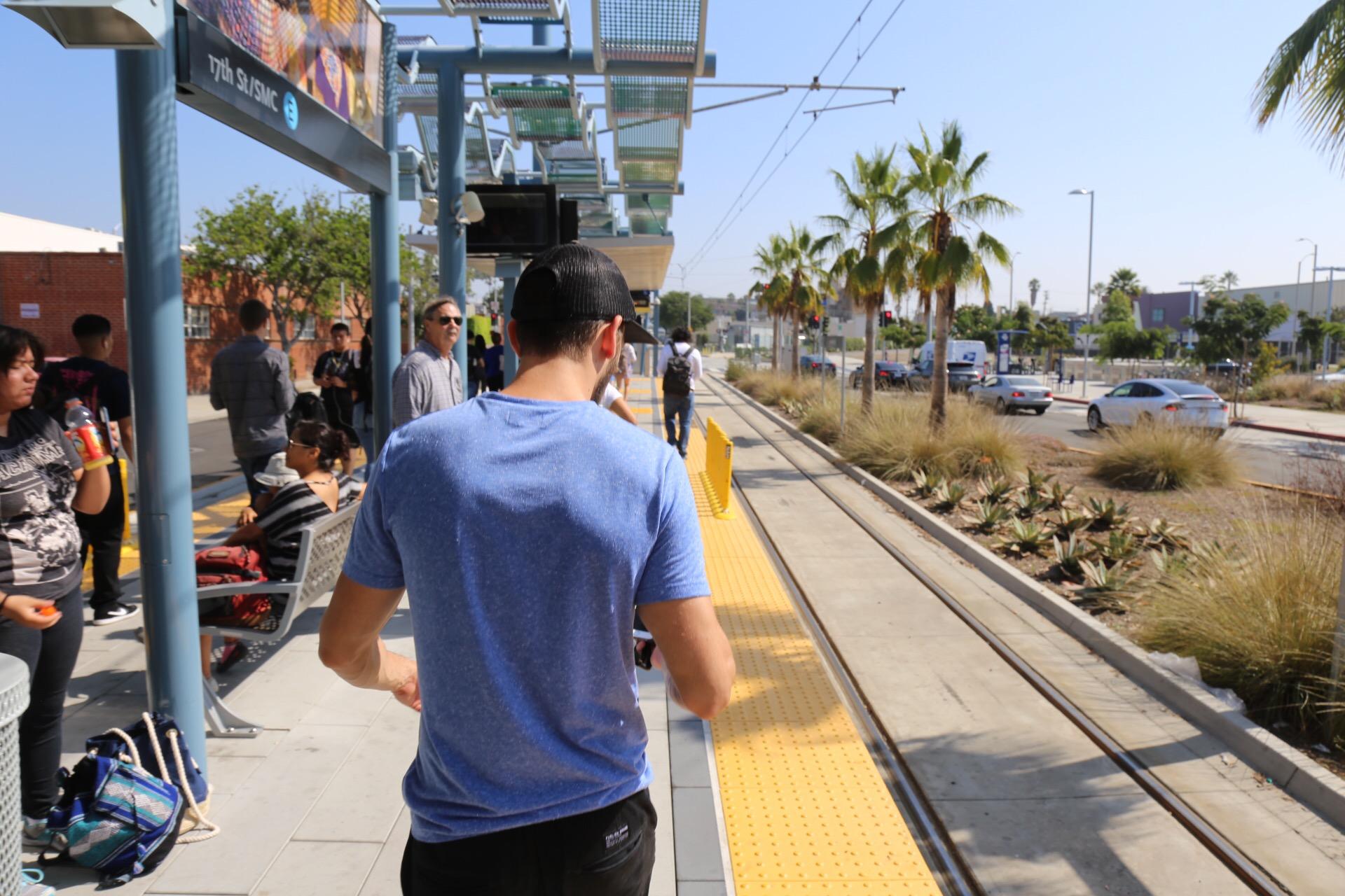 Expo Line to Santa Monica -