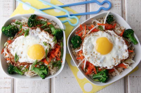 Asian Rice Bowl -