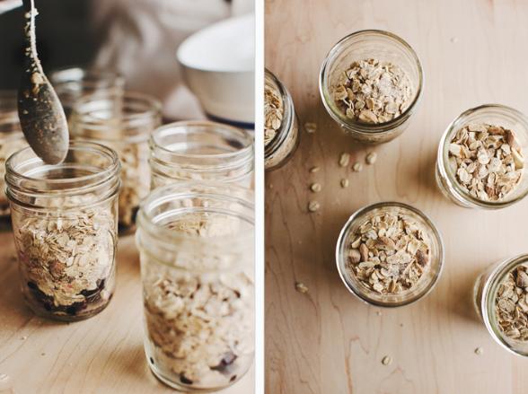 Baked Blueberry Oatmeal -