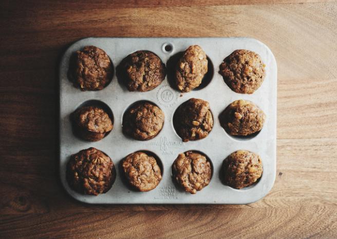 Mini Sweet Potato Muffins -