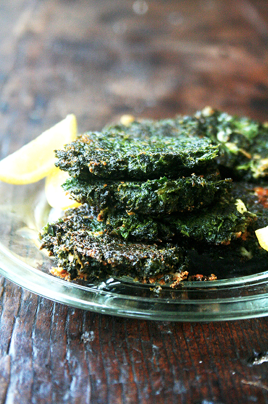 Chard Fritters -