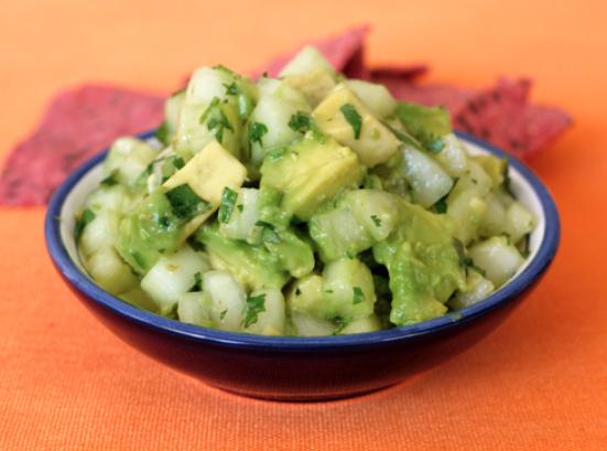 Cucumber Avocado Salsa -