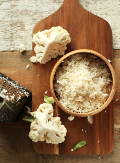 How To Make Cauliflower Rice -