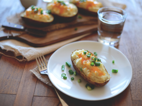 Cauliflower Twice -Baked Potatoes -
